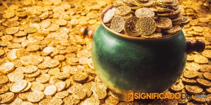 soñar con monedas de oro