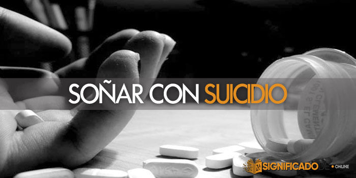 soñar con suicidio